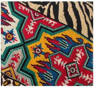 Pierre Louis Mascia Pierre-Louis Mascia Aztec animal print scarf