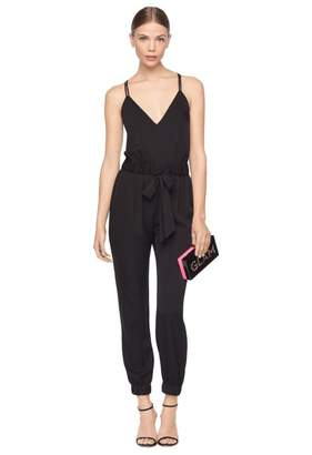 Milly Stretch Silk Helena Jumpsuit