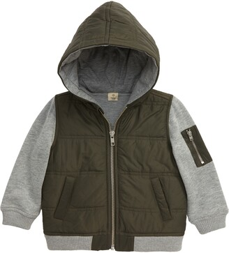 Tucker + Tate Mountain Crest Nylon & Fleece Jacket