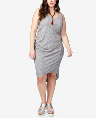 RACHEL Rachel Roy Trendy Plus Size High-Low Tank Dress $99 thestylecure.com