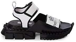Dolce & Gabbana Dolce& Gabbana Dolce& Gabbana Men's Logo Sandals
