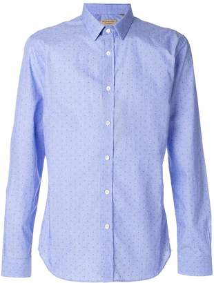 Burberry dotted pattern longsleeved shirt