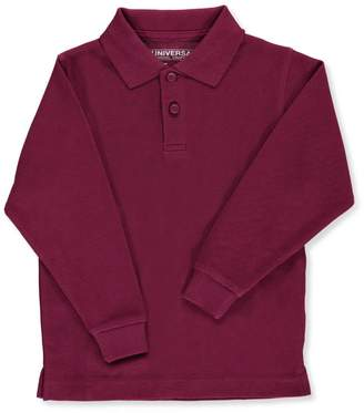 Universal Nutrition Universal Toddler Unisex L/S Pique Polo