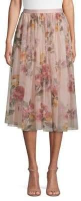 Needle & Thread Venetian Rose Midi Skirt