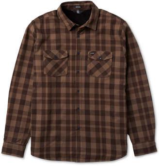 Volcom Men Ferdinand Plaid Shirt Jacket