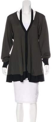Balenciaga Wool Cutout Cardigan