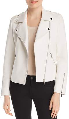 Bagatelle Embossed Faux Leather Moto Jacket