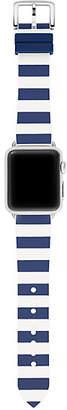 Kate Spade Silicone stripe apple watch® strap