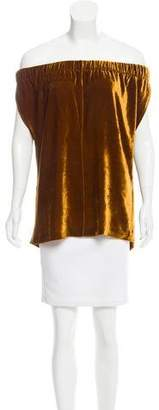 Zero Maria Cornejo Sleeveless Velvet Top