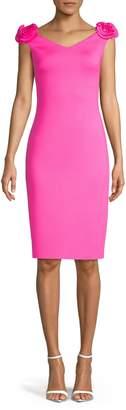 Eliza J Rosette Sheath Dress