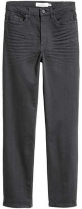 H&M Slim-fit Pants - Gray