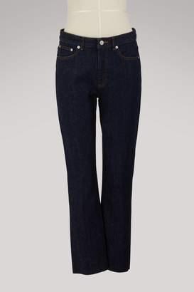 A.P.C. Cotton and linen jeans