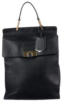 Balenciaga Leather Le Dix Backpack