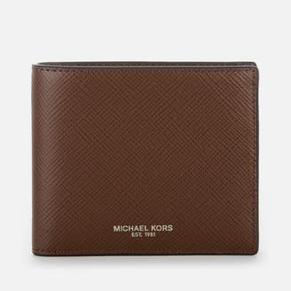 b92b2c30fbde ... slim leather billfold wallet grey f86d2 22765  aliexpress at mybag michael  kors mens harrison billfold wallet mocha d44ec d8ce8