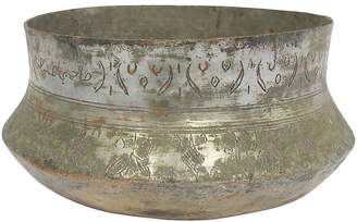 One Kings Lane Vintage Antique Egyptian Copper Bowl - G3Q Designs