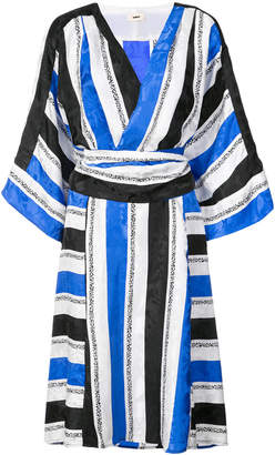 Jet Set Warm Sketch jacquard dress