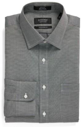 Men's Nordstrom Men's Shop Traditional Fit Non-Iron Solid Dress Shirt $39 thestylecure.com