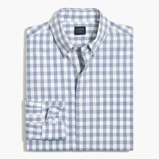 J.Crew Tall slim-fit flex washed shirt in medium gingham