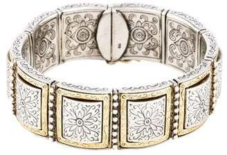 Pre Owned At Therealreal Konstantino Engraved Link Bracelet