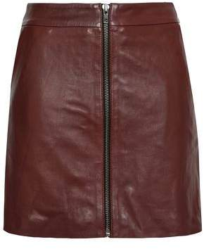 Muu Baa Muubaa Leather Mini Skirt