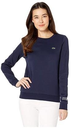 Lacoste Long Sleeve Fleece Crew Neck Sweatshirt