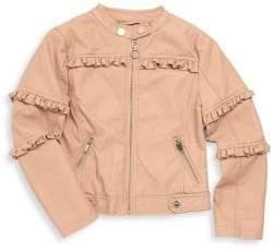 Urban Republic Little Girl's & Girl's Ruffle-Trimmed Jacket