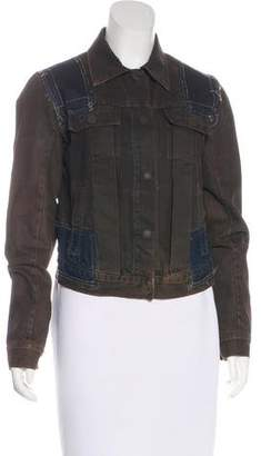 Rick Owens Long Sleeve Denim Jacket