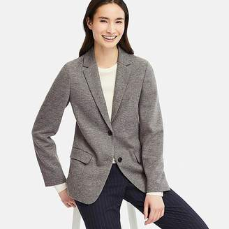 Uniqlo Women's Wool-blend Jacket (online Exclusive)