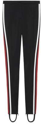 Gucci Technical jersey stirrup legging
