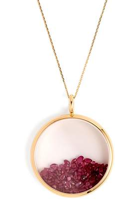 Aurelie Bidermann FINE JEWELLERY Chivor ruby & 18kt gold necklace