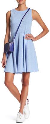 Doe & Rae Sleeveless Heathered Knit Dress