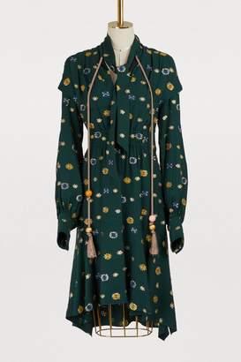 Peter Pilotto Print mini dress