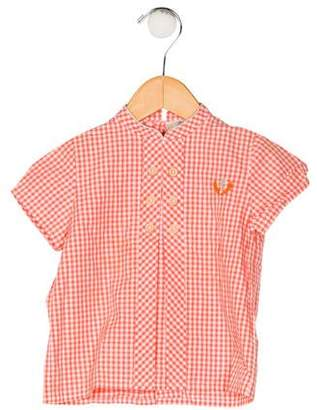 Carrera Pili Boys' Checkered Shirt