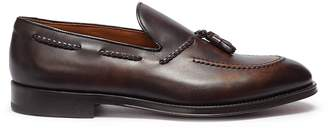 Doucal's 'Fade' tassel leather loafers