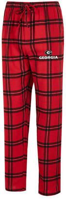 Concepts Sport Men Georgia Bulldogs Homestretch Flannel Pajama Pants