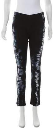 J Brand Tie-Dye Low-Rise Jeans