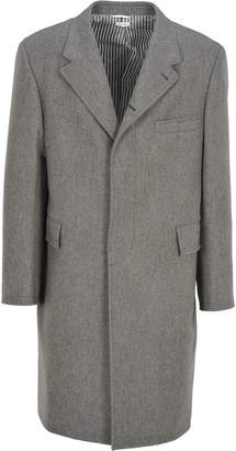 Thom Browne Coat Chesterfield Double Vent