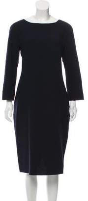 Sofie D'hoore Wool Long-Sleeve Dress