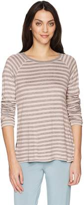 PJ Salvage Women's Revival Lounge Long Sleeve Stripe Top