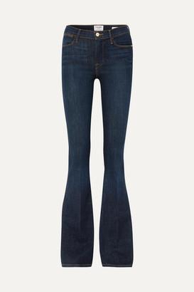 Frame Le High High-rise Flared Jeans