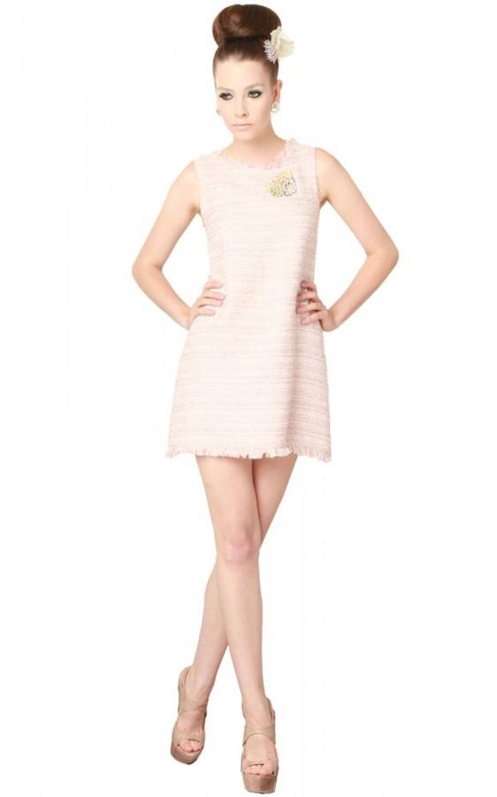 Ruby Tweed Dress