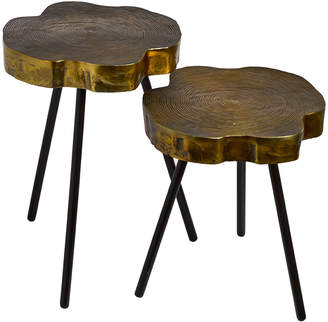 Pols Potten Tree Slice Side Table - Set of 2