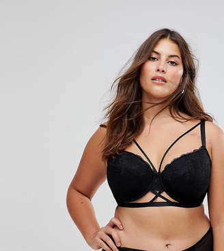 Asos Becca Strappy Lace Moulded Bra