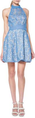 Delilah Halter Mini Dress