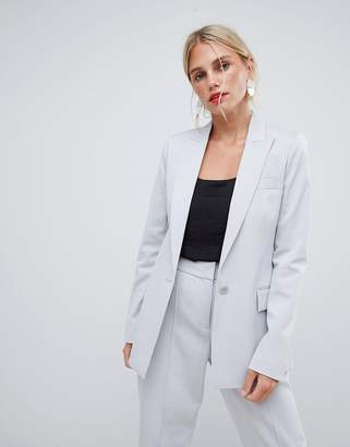 Reiss long line tailored jacket