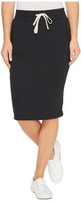 Alternative Vintage French Terry Friday Night Skirt Women's Skirt