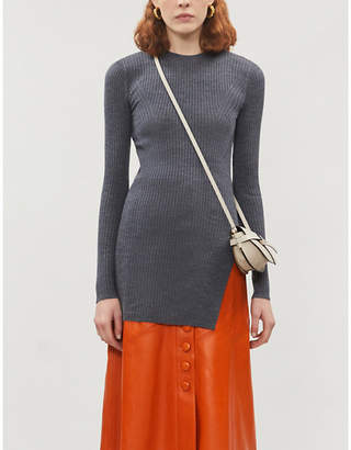Joseph Tunic wool mini dress