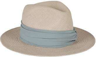 Fabiana Filippi Lace-up Detail Hat