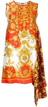 P.A.R.O.S.H. print shift mini dress