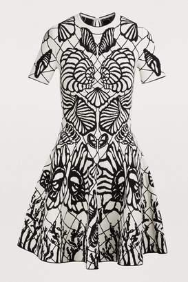 Alexander McQueen Pattern short dress